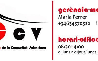 APCCV recull dels efectes i pèrdues de la cancel·lació d'activitats formatives o escoles de circ valencià